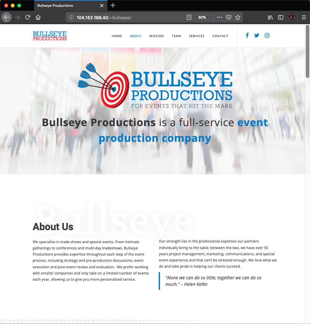 Bullseye Productions