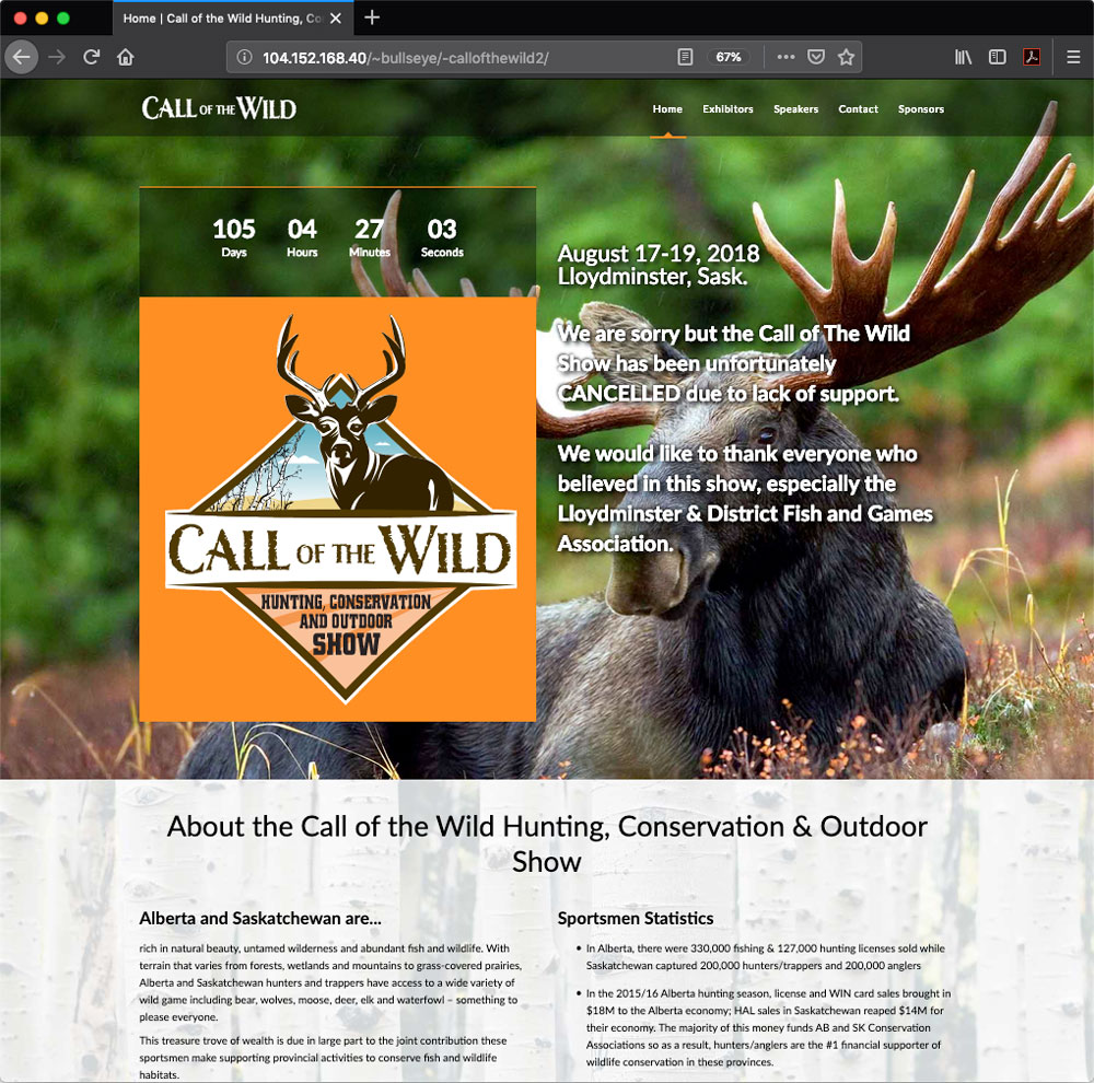 Call of the Wild Hunting Show